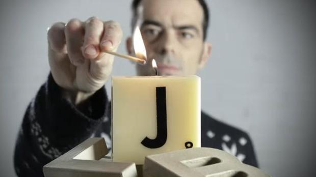 Espelmes Scrabble