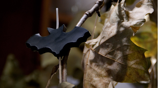 Bat-Halloween-Candle