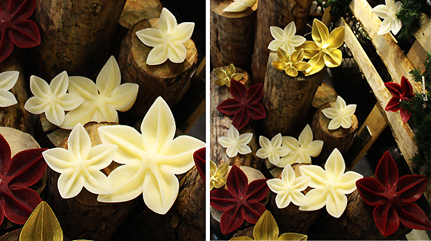 Christmas-Natural-Flower-Candles