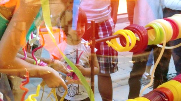 Velas de aniversario multicolor