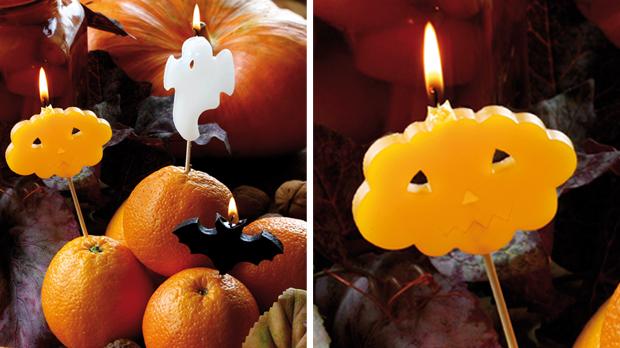 Espelmes per pastís de tardor