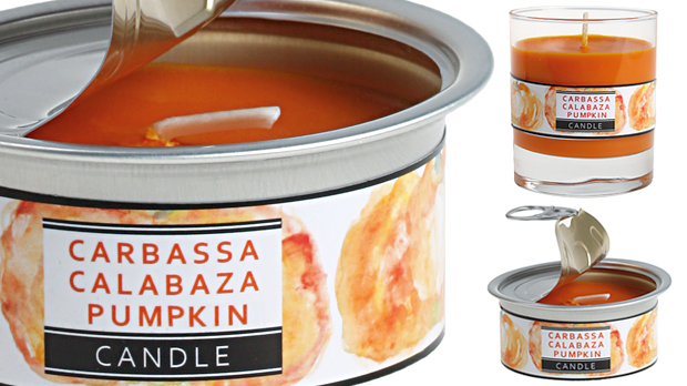 Espelma aromàtica de carbassa