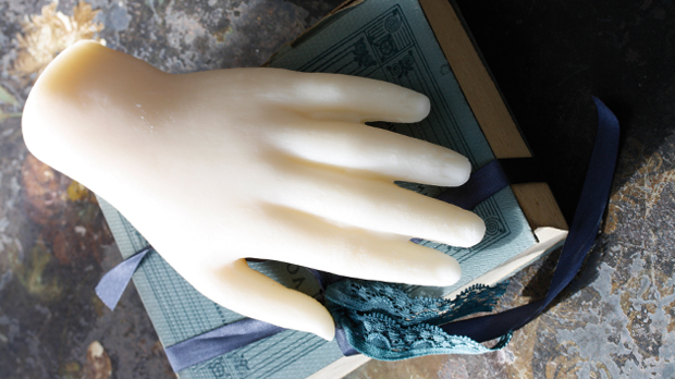 Hand-Wax-Sculpture