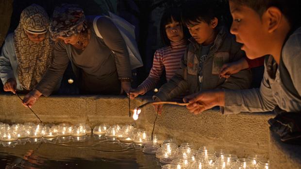 Espelmes Jardins Biblioteca General de Catalunya