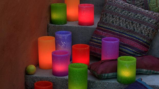 Espelmes per a festes