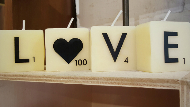 Scrabble-Candles-Love