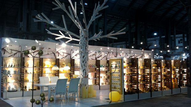 Xmas-Candles-at-Decoration-Tradeshow Fairs