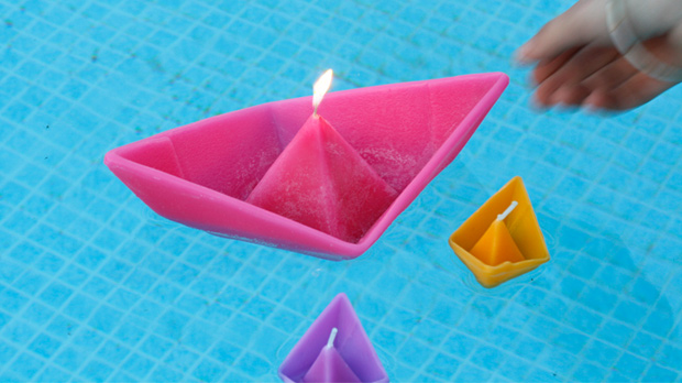 Paperboat Floating Candles