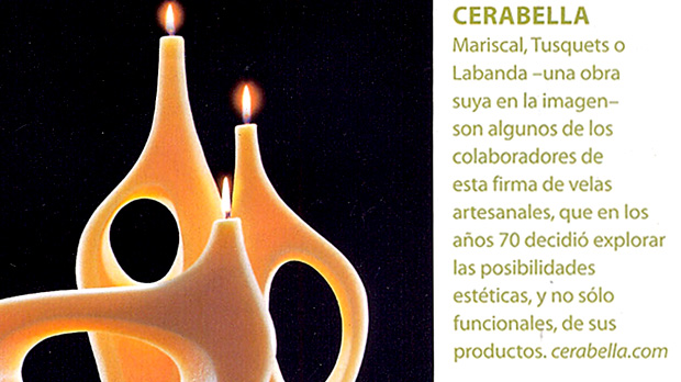 velas artesanas de vanguardia