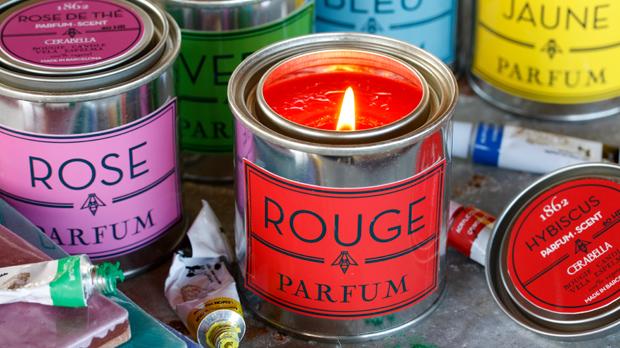 Espelma vegetal perfumada