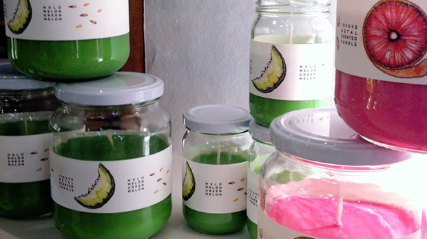 Fruit-scented-candles