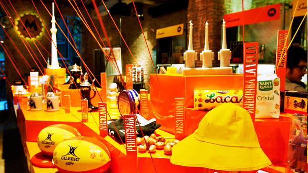 Espelmes Souvenir a la Moritz Store