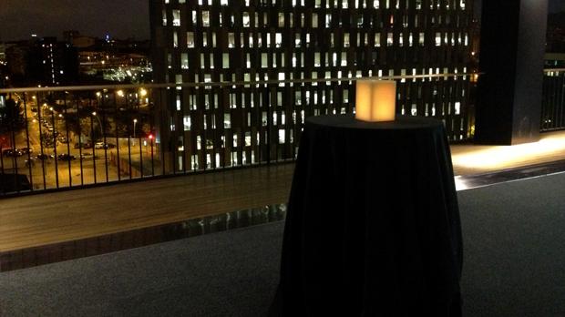 Espelmes a la festa RBA