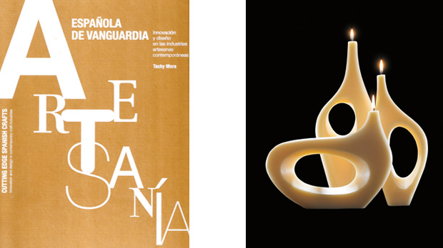 A book by Tachy Mora on Contemporary Spanish Crafts