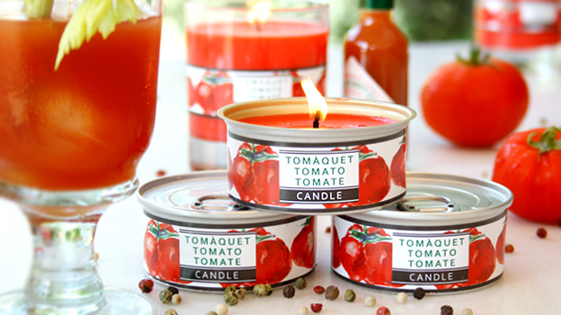 Natural Tomato Scented Candle