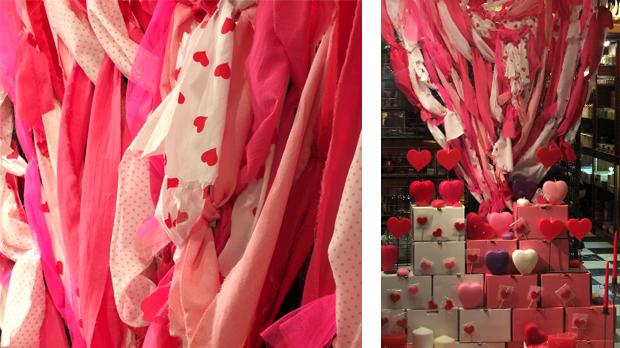 Velas para celebrar San Valentín