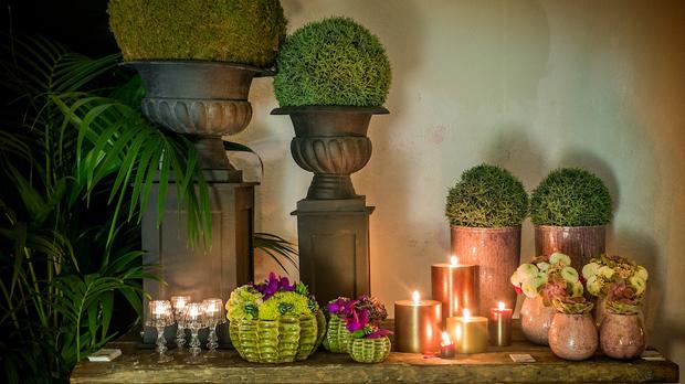 velas patina cobre noche de bodas