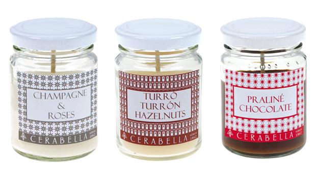 Velas arom ticas para el invierno con notas gourmand - Etiquetas para velas ...